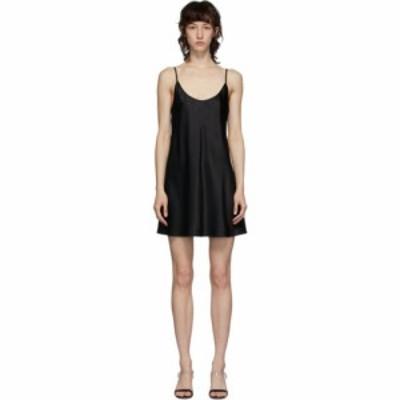 ラ ペルラ La Perla レディース ワンピース スリップドレス ワンピース・ドレス black silk slip dress Black