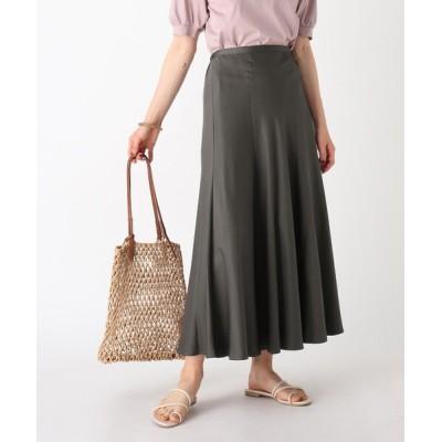 OPAQUE.CLIP / ヴィンテージサテン マーメイドフレアスカート【WEB限定サイズ】 WOMEN スカート > スカート