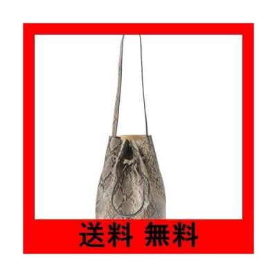 [サニーレーベル] 鞄 ショルダーバッグ スネーク柄巾着ワンショルダーバッグ レディース LA96-2AM091