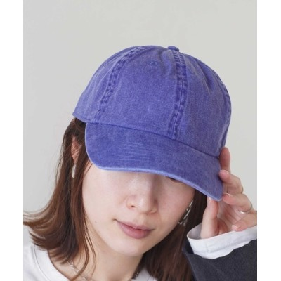 RiNc / 【 newhattan / ニューハッタン 】 ピグメント ダイ コットン キャップ WOMEN 帽子 > キャップ