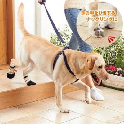 エクラン 快適な靴 屋外用(ひきずる足用) 4号 歩行補助 犬用