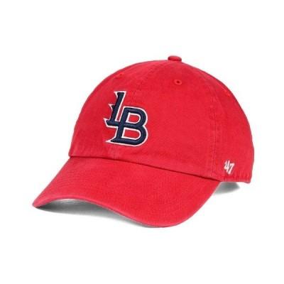 47ブランド 帽子 アクセサリー メンズ Louisville Bats MiLB Clean Up Cap Red