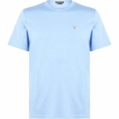 バブアー Barbour Lifestyle メンズ Tシャツ トップス Tailored Fit Merc T-Shirt Blue BL