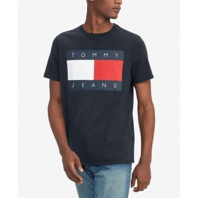 トミー ヒルフィガー メンズ Tシャツ トップス Men's Logo Cotton T-Shirt
