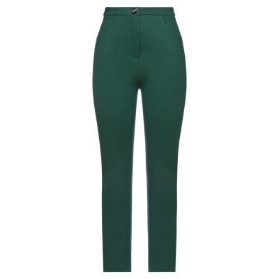 BE BLUMARINE パンツ グリーン 40 レーヨン 70% / ナイロン 25% / ポリウレタン 5% パンツ