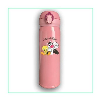 NYF Looney Tunes Stainless Water Bottle, Sports Drinking Bottle Leak-Proof Vaccum Cup, with Bounce Cover Car Portable Thermoses Cup【並行