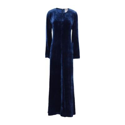 フォルテ フォルテ FORTE_FORTE ロングワンピース&ドレス ブルー 1 レーヨン 82% / シルク 18% ロングワンピース&ドレス