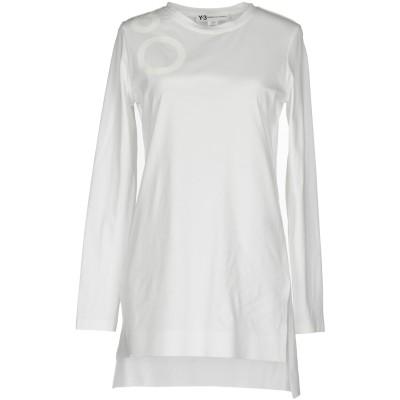 ワイスリー Y-3 T シャツ ホワイト S オーガニックコットン 97% / ポリウレタン 3% T シャツ