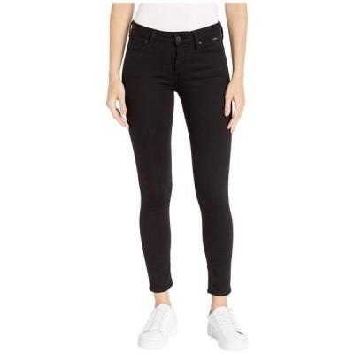 マーヴィ ジーンズ レディース デニムパンツ ボトムス Adriana Mid-Rise Super Skinny Jeans in Double Black Tribeca