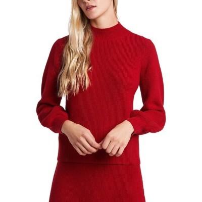 ライリー レイ ニット&セーター アウター レディース Morgyn Mock-Neck Sweater, Created for Macy's Vermillion