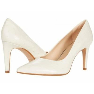 Clarks クラークス レディース 女性用 シューズ 靴 ヒール Genoa85 Court White Interest【送料無料】