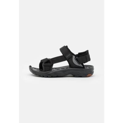 ハイテック レディース サンダル ULA RAFT WOMENS - Walking sandals - black
