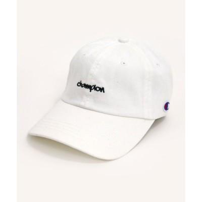 帽子 キャップ Champion/チャンピオン 【別注】 ミニ刺繍 ローキャップ