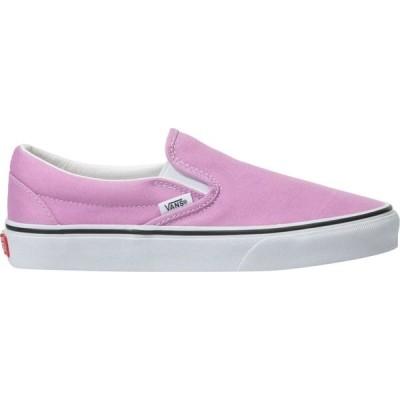 ヴァンズ Vans レディース スリッポン・フラット シューズ・靴 Classic Slip - On Shoe Orchid/True White