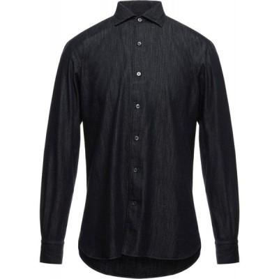 エルメネジルド ゼニア ERMENEGILDO ZEGNA メンズ シャツ デニム トップス denim shirt Blue