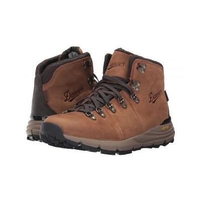 "Danner ダナー メンズ 男性用 シューズ 靴 ブーツ ハイキングブーツ Mountain 600 4.5"" - Rich Brown"