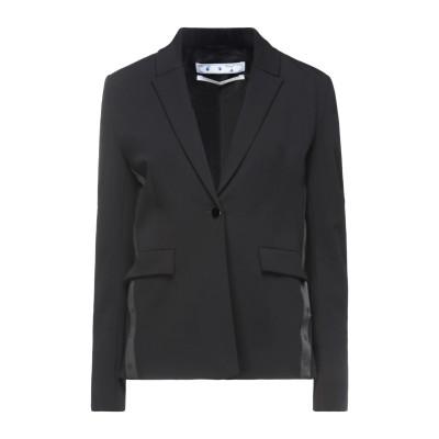 OFF-WHITE™ テーラードジャケット ブラック 40 レーヨン 57% / ウール 39% / ポリウレタン 4% / ポリエステル テーラー