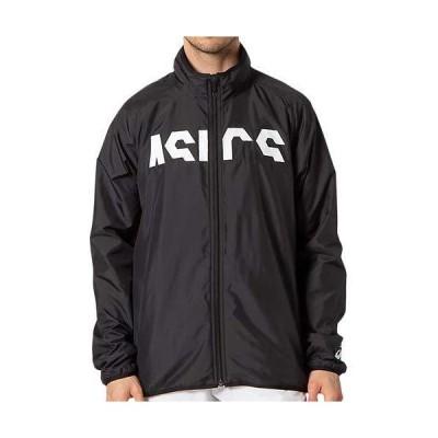 [アシックス] トレ−ニングウェア CROPPED ASICSウラトリコットウィンドブレーカージャケット 2031D005 メンズ 001(パ?