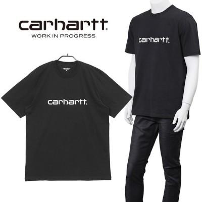 カーハート ダブリューアイピー Carhartt WIP Tシャツ SCRIPT I029915-8990_BLACK/WHITE
