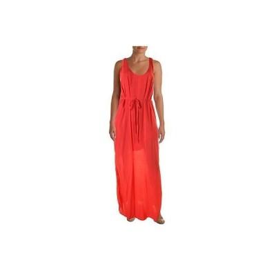 ベラダール ドレス ワンピース Bella Dahl 4778 レディース ピンク Side Slit ノースリーブ Full-Length Maxi ドレス S BHFO