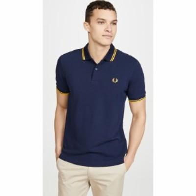フレッドペリー Fred Perry メンズ ポロシャツ トップス Twin Tipped Shirt Carbon Blue