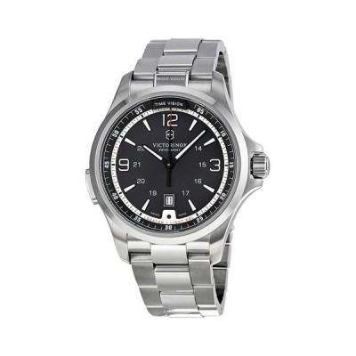 ビクトリノックス 腕時計 ナイトビジョン 241569 ブラック×シルバー