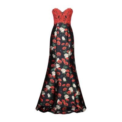 ANTONIO NOTARO ロングワンピース&ドレス レッド 46 ポリエステル 100% ロングワンピース&ドレス