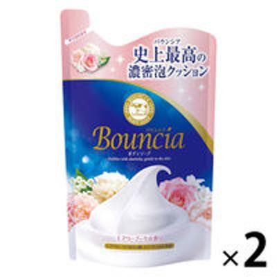 牛乳石鹸共進社バウンシア ボディソープ エアリーブーケの香り 詰め替え 400ml 2個 牛乳石鹸共進社
