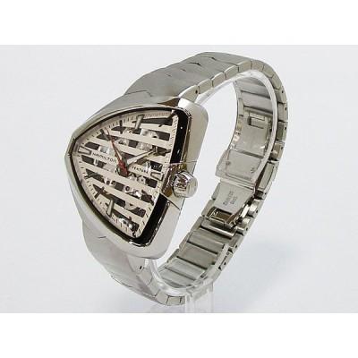 【ハミルトン】HAMILTON ベンチュラ エルヴィス80 スケルトンオート 約80時間パワーリザーブ メンズ 腕時計 自動巻きH24555181【新品】