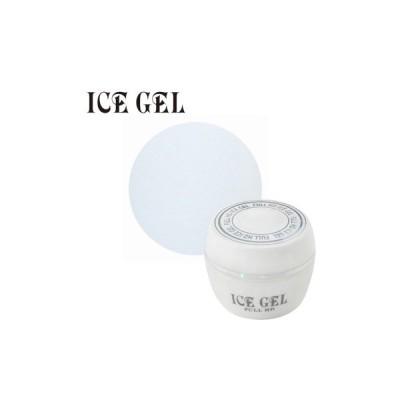 【メール便OK】 ジェルネイル セルフ カラージェル ICE GEL アイスジェル カラージェル RE−418 ホワイト 3g