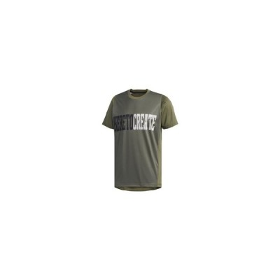 アディダス adidas M4T スローガンTシャツ メンズシャツ DV2178  セール アウトレット