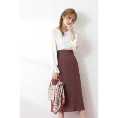 PROPORTION BODY DRESSING / プロポーションボディドレッシング  ロングセミタイトスカート
