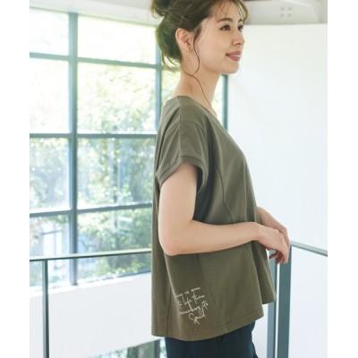 tシャツ Tシャツ CCフレンチスリーブロゴT
