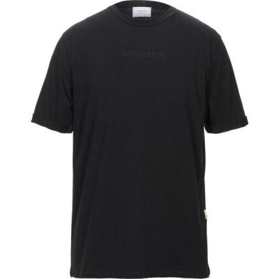 ガッザリーニ GAZZARRINI メンズ Tシャツ トップス T-Shirt Black