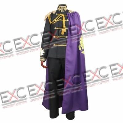 ヘタリア Axis Powers 日本 黒軍服 風 コスプレ衣装