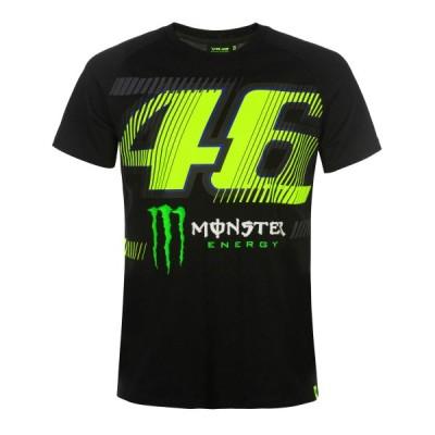 ヤマハ(YAMAHA) Tシャツ VR46 ヴァレンティーノ ロッシ ブラック Sサイズ(欧州) Q5D-YSK-570-00W