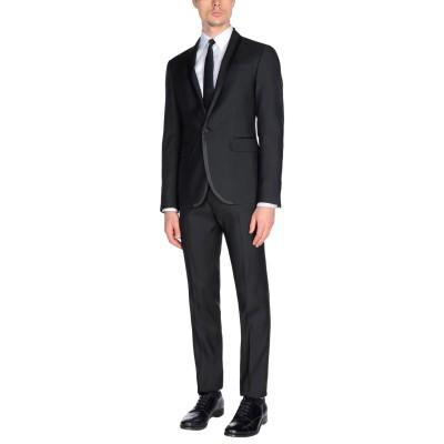 ディースクエアード DSQUARED2 スーツ ブラック 54 バージンウール 65% / シルク 35% スーツ