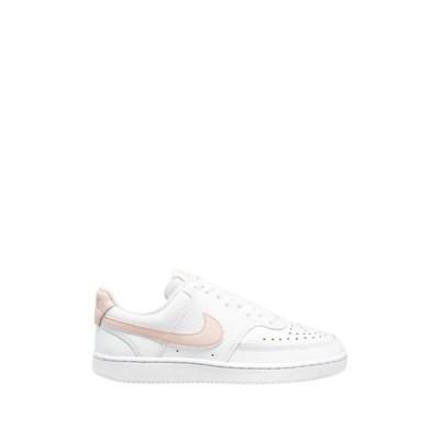 ナイキ レディース スニーカー シューズ Court Vision Low Sneaker 105 WHITE/WSHCRL