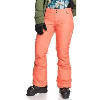 ロキシー レディース カジュアルパンツ ボトムス Roxy Women's Gore-Tex Rushmore Snow Pants Fusion Coral