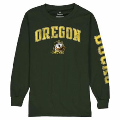 Fanatics Branded ファナティクス ブランド スポーツ用品  Fanatics Branded Oregon Ducks Youth Green Distressed Arc