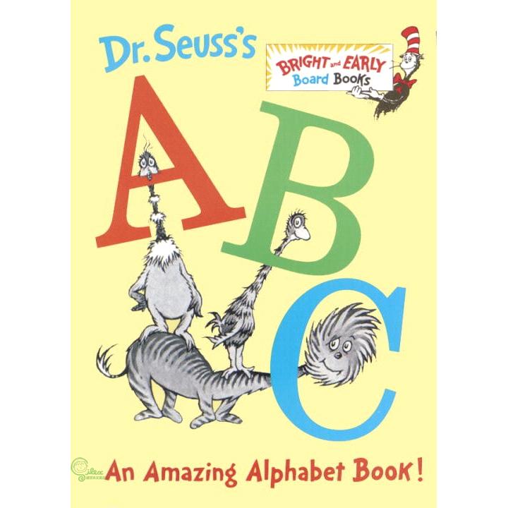 Dr. Seuss's ABC ─ An Amazing Alphabet Book (硬頁書)【禮筑外文書店】