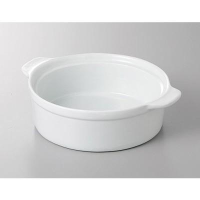 (業務用・耐熱陶器)ルナホワイト16.5cmスタックグラタン (O)(E)(C)(M)(入数:5)
