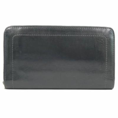 LOUIS VUITTON ルイ・ヴィトン ジッピーオーガナイザー ユタ M97026 カーフ 黒 長財布 メンズ