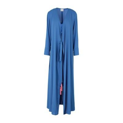 メルシー ..,MERCI ロングワンピース&ドレス ブライトブルー 42 ポリエステル 100% ロングワンピース&ドレス