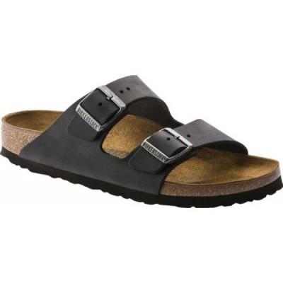 ビルケンシュトック Birkenstock メンズ サンダル シューズ・靴 Arizona Oiled Leather Black Oiled Leather