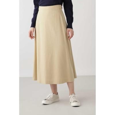 【ヒューマンウーマン/HUMAN WOMAN】 ◆テンセルコットンスカート