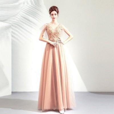 ロングドレス カラードレス パーティードレス 発表会 大きいサイズ 結婚式 ワンピース 二次会 ドレス ステージ衣装 演奏会用ドレス 安い 半袖