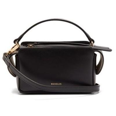 ワンダラー Wandler レディース ショルダーバッグ バッグ Yara leather cross-body bag black