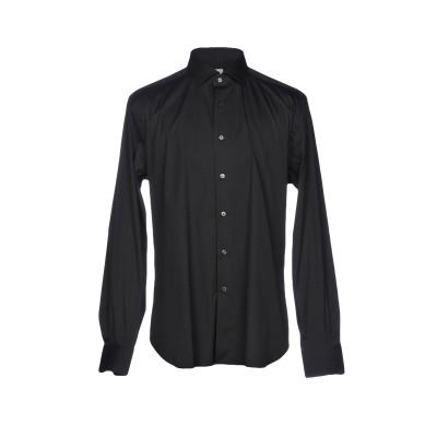 XACUS シャツ ブラック 41 コットン 78% / ナイロン 18% / ポリウレタン 4% シャツ