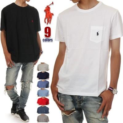 ラルフローレン 半袖 ポケット Tシャツ メンズ レディース クルーネック TEE ワンポイント ポニー刺繍 コットン